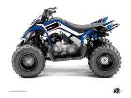 Yamaha 90 Raptor ATV Corporate Graphic Kit Blue