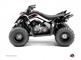 Yamaha 90 Raptor ATV Corporate Graphic Kit Black