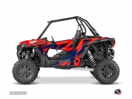 Kit Déco SSV Cruiser Polaris RZR 1000 Turbo Rouge Bleu