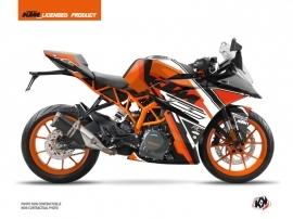 KTM 125 RC Street Bike Crux Graphic Kit Orange
