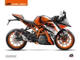 KTM 390 RC Street Bike Crux Graphic Kit Orange