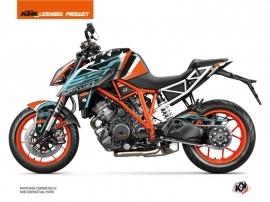 KTM Super Duke 1290 Street Bike Crux Graphic Kit Orange Blue