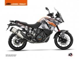 Kit Déco Moto Delta KTM 1190 Adventure Gris Orange