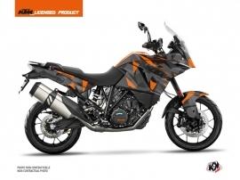 Kit Déco Moto Delta KTM 1190 Adventure Noir Orange
