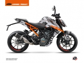 Kit Déco Moto Delta KTM Duke 390 Gris Orange