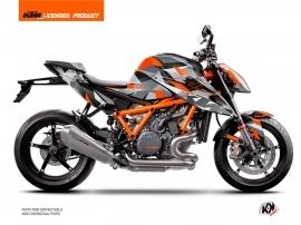 KTM Super Duke 1290 R 2020-2022 Street Bike Delta V2 Graphic Kit Orange
