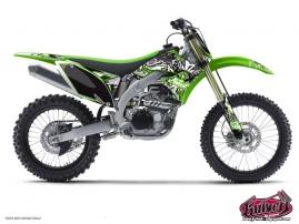 Kawasaki 125 KX Dirt Bike Demon Graphic Kit