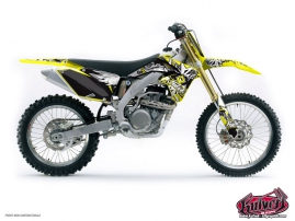 Suzuki 450 RMZ Dirt Bike Demon Graphic Kit