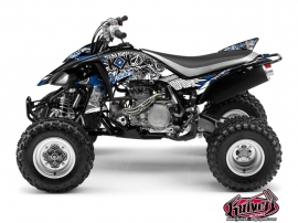 Yamaha 450 YFZ ATV Demon Graphic Kit Blue