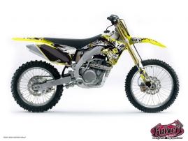 Suzuki 85 RM Dirt Bike Demon Graphic Kit