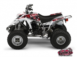 Yamaha Blaster ATV Demon Graphic Kit Red