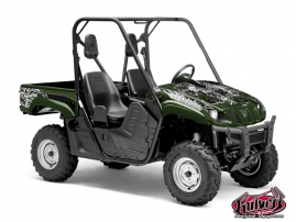 Yamaha Rhino UTV Demon Graphic Kit Green