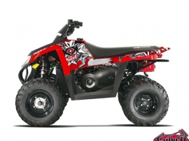 Polaris Scrambler 500 ATV Demon Graphic Kit