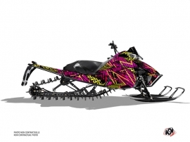 Arctic Cat Pro Climb Snowmobile Dizzee Graphic Kit Pink