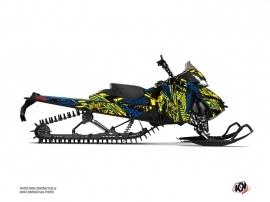 Skidoo REV XM Snowmobile Dizzee Graphic Kit Yellow