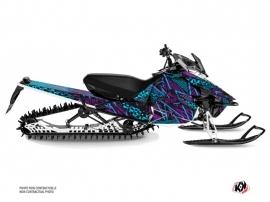 Yamaha SR Viper Snowmobile Dizzee Graphic Kit Purple