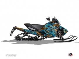 Arctic Cat Thundercat Snowmobile Dizzee Graphic Kit Blue