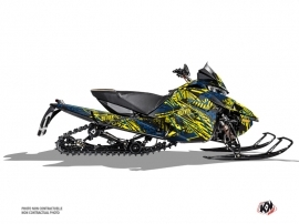 Arctic Cat Thundercat Snowmobile Dizzee Graphic Kit Yellow