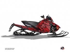 Arctic Cat Thundercat Snowmobile Dizzee Graphic Kit Red