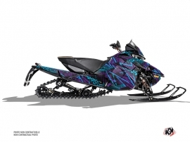 Arctic Cat Thundercat Snowmobile Dizzee Graphic Kit Purple