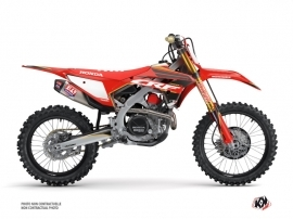 Honda 450 CRF Dirt Bike Dyna Graphic Kit Gold