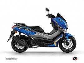 Kit Déco Maxiscooter Energy Yamaha NMAX 125 Bleu Noir
