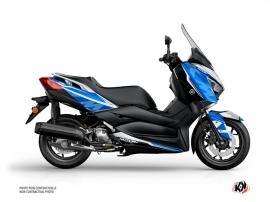 Kit Déco Maxiscooter Energy Yamaha XMAX 300 Gris Bleu