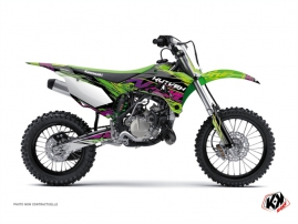 Kawasaki 110 KLX Dirt Bike Eraser Graphic Kit Green