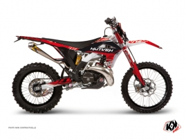 GASGAS 250 EC Dirt Bike Eraser Graphic Kit Red White