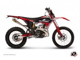 Kit Déco Moto Cross Eraser GASGAS 250 ECF Rouge Blanc