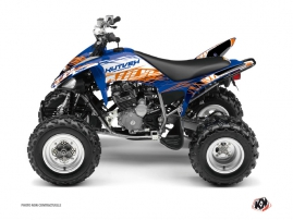 Yamaha 250 Raptor ATV Eraser Graphic Kit Blue Orange