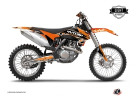 KTM 250 SX Dirt Bike Eraser Graphic Kit Orange Black LIGHT