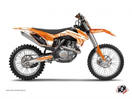 KTM 250 SX Dirt Bike Eraser Graphic Kit Orange