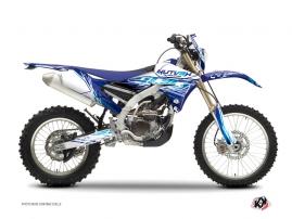Yamaha 250 WRF Dirt Bike Eraser Graphic Kit Blue