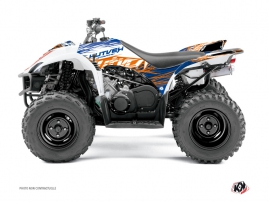 Yamaha 350-450 Wolverine ATV Eraser Graphic Kit Blue Orange