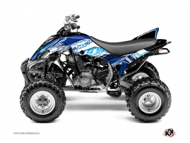Yamaha 350 Raptor ATV Eraser Graphic Kit Blue
