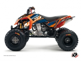 KTM 450-525 SX ATV Eraser Graphic Kit Blue Orange