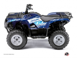 Yamaha 450 Grizzly ATV Eraser Graphic Kit Blue