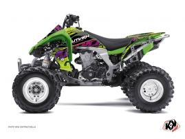 Kawasaki 450 KFX ATV Eraser Graphic Kit Green