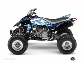 Yamaha 450 YFZ ATV Eraser Graphic Kit Blue