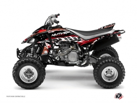 Yamaha 450 YFZ ATV Eraser Graphic Kit Red White