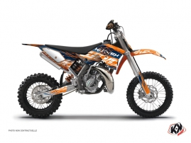 KTM 50 SX Dirt Bike Eraser Graphic Kit Blue Orange