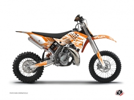 KTM 50 SX Dirt Bike Eraser Graphic Kit Orange