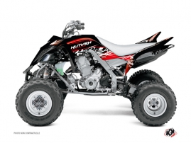Yamaha 660 Raptor ATV Eraser Graphic Kit Red White