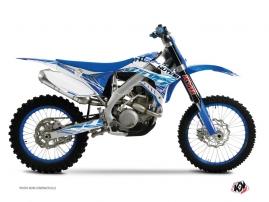 Kit Déco Moto Cross Eraser TM MX 85 Bleu