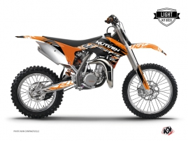 KTM 85 SX Dirt Bike Eraser Graphic Kit Orange Black LIGHT