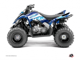 Yamaha 90 Raptor ATV Eraser Graphic Kit Blue