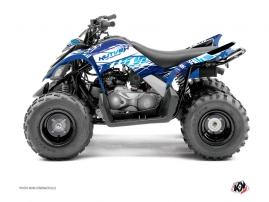 Kit Déco Quad Eraser Yamaha 90 Raptor Bleu