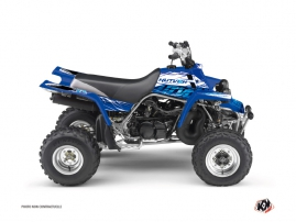 Yamaha Banshee ATV Eraser Graphic Kit Blue