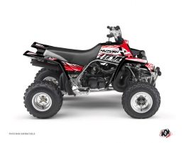 Yamaha Banshee ATV Eraser Graphic Kit Red White